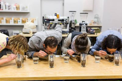 akron-coffee-roasters-coffee-cupping
