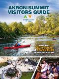 Cover of the Akron Visitors Guide 2019